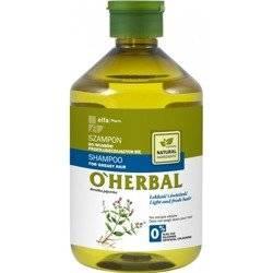 OHerbal Szampon włosy Przetłuszczające się 500 ml
