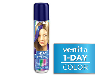 Venita 1-Day Color Ultra Blue -Szafirowy Błękit 50 ml