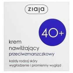 Ziaja 40  Krem nawilżający przeciwzmarszczkowy n/d 50ml