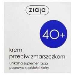 Ziaja 40+ Krem przeciwzmarszczkowy półtłusty na d/n 50ml