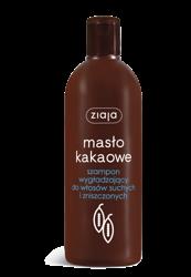 Ziaja Masło Kakaowe Szampon wygładzający 400 ml