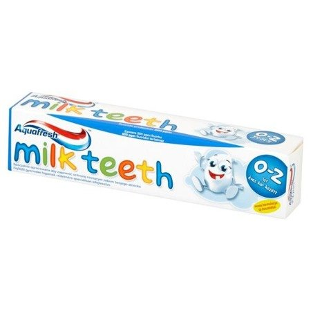 Aquafresh Pasta zęby mleczne 0-2 l Milk Teeth 50ml