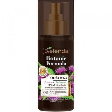 Bielenda Botanic Łopian+Pokrzywa Odżywka spray d/w przetłuszczających się 150ml