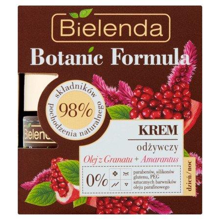 Bielenda Botanic O.Granat+Amarantus Krem odżywczy d/n 50ml