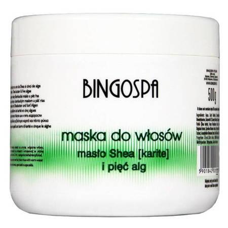 BingoSpa Maska d/w masło Shea i pięć alg 500g