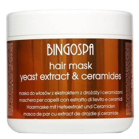 BingoSpa Maska d/w z ekstratem z drożdży 500g